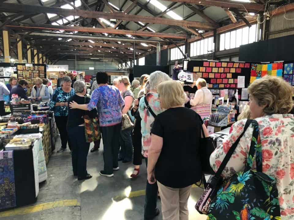 Island Quilts at Craft Alive, The Goods Shed, 2018